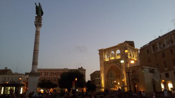 Visita guidata a Lecce: piazza Sant'Oronzo